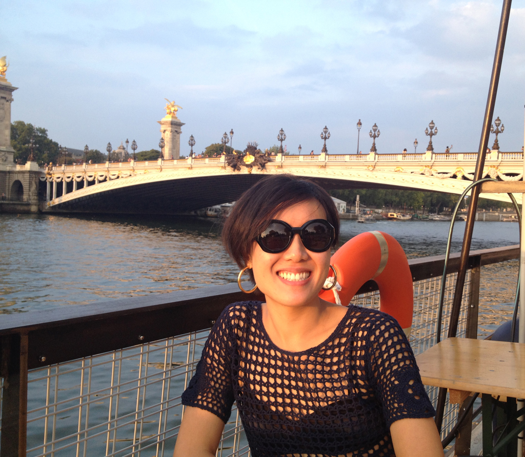 Nadia Chu, Seine, Pont Alexandre III